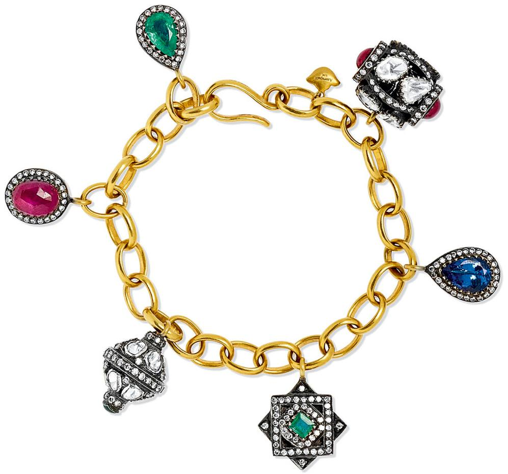 Amrapali gold, silver and multi-stone bracelet, £13,400, exclusive to Net-a-Porter