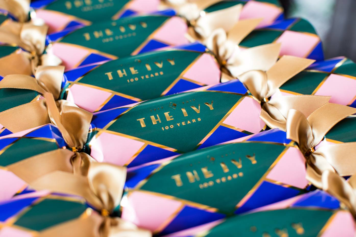 The Ivy's crackers reference the Covent Garden restaurant's famous stained-glass window, £50 for six