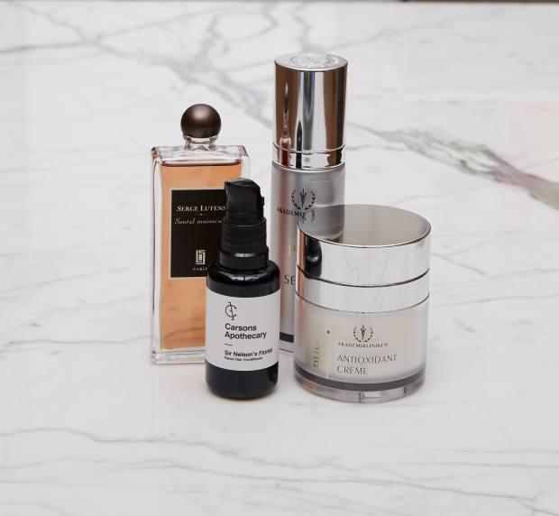 Rosenius's skincare products
