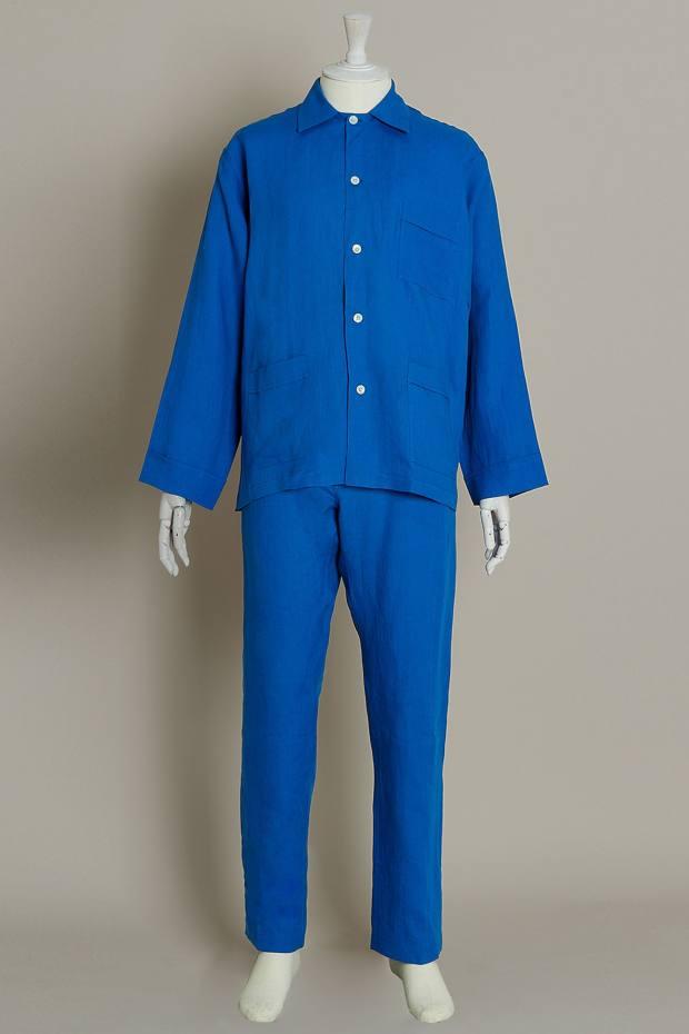 Anderson & Sheppard linen pyjamas, £345