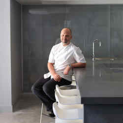 Chef Simon Rogan at Aulis