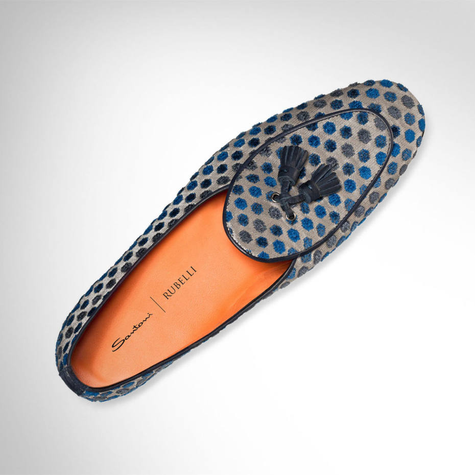 Tasselled Lopez loafer with piping, €515