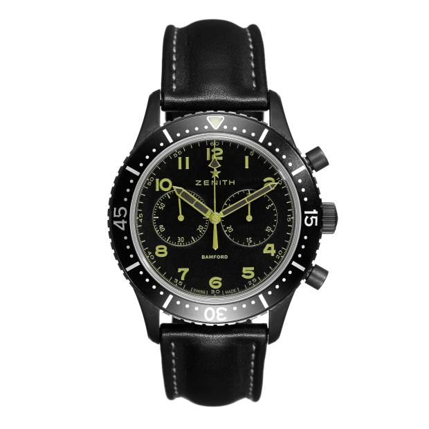The Zenith Pilot Chrono Tipo CP2 is inspired by Zenith's militaryCairelli chronograph, designed for the Italian airforce in the 1960s