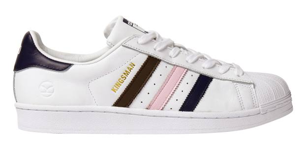 Kingsman x Adidas leather Superstar sneakers, £140