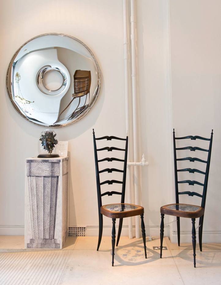 Zieta for Mint Gallery stainless-steel Convex mirror, from £1,200