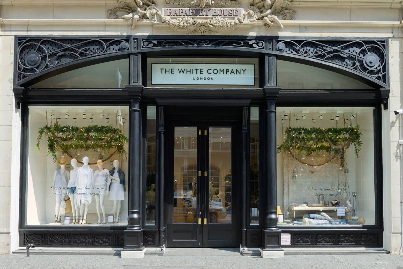 The new White Company store on New York's Fifth Avenue