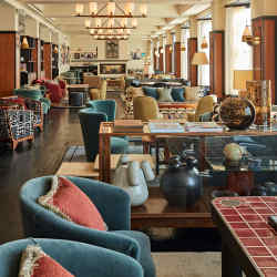 The Club floor of Soho House Amsterdam