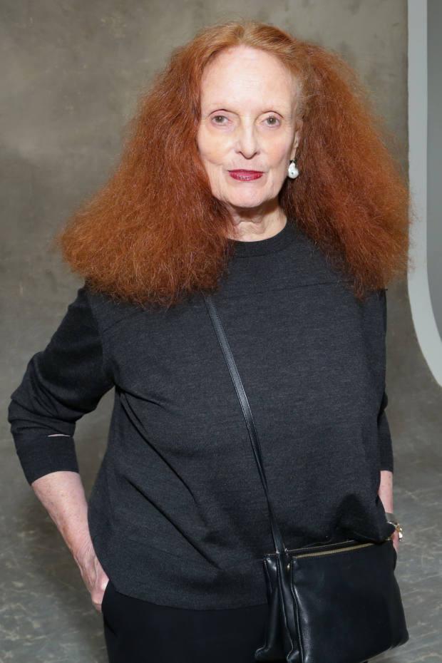Prentice's style icon Grace Coddington