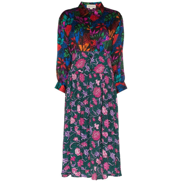 Rentrayage dress, similar styles from £1,515; brownsfashion.com: fashioned from secondhand and vintage garments