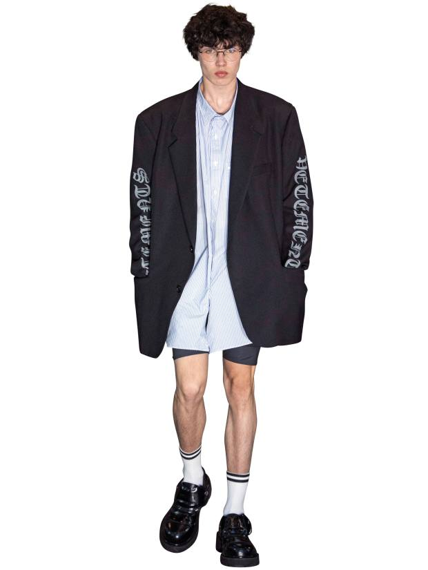 Cycling shorts by Vetements S/S 2020