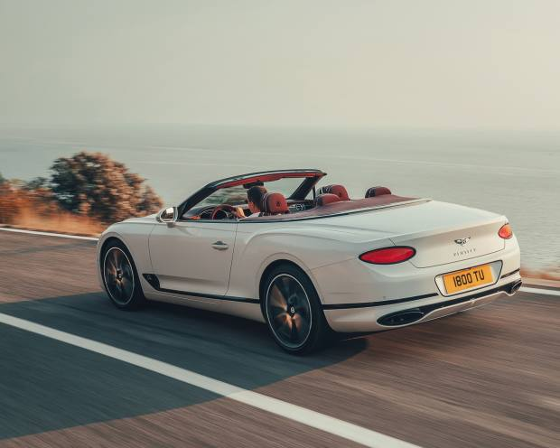 The GTC has a  top speed of 207mph