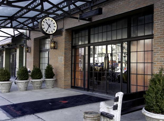 """The Bowery Hotel – """"like a very welcoming home""""."""