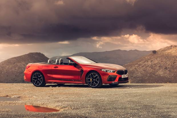 BMW M8 Competition Convertible, from £127,715