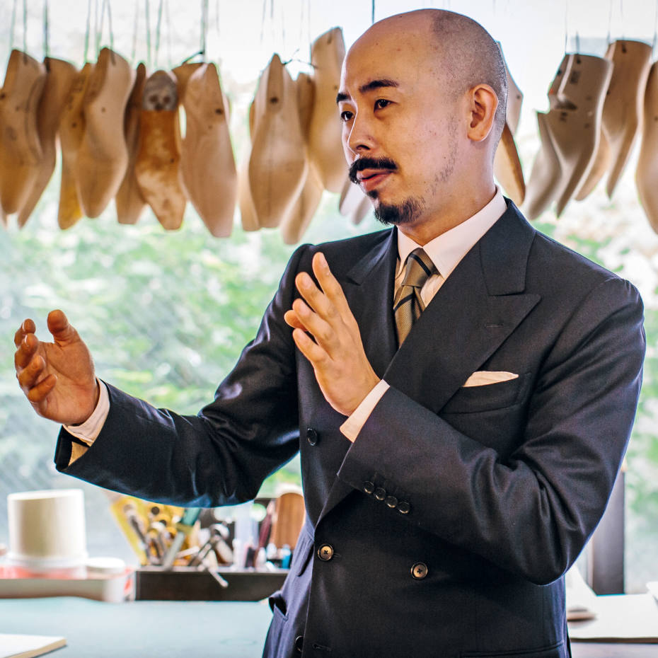The elegant craftsmanship of Japanese shoemakers