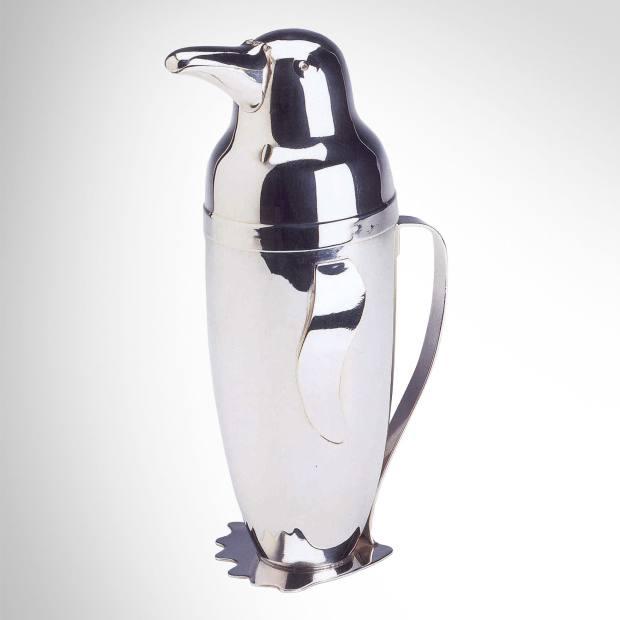 Napier 1930s Penguin shaker, £3,600, from Pullman Gallery