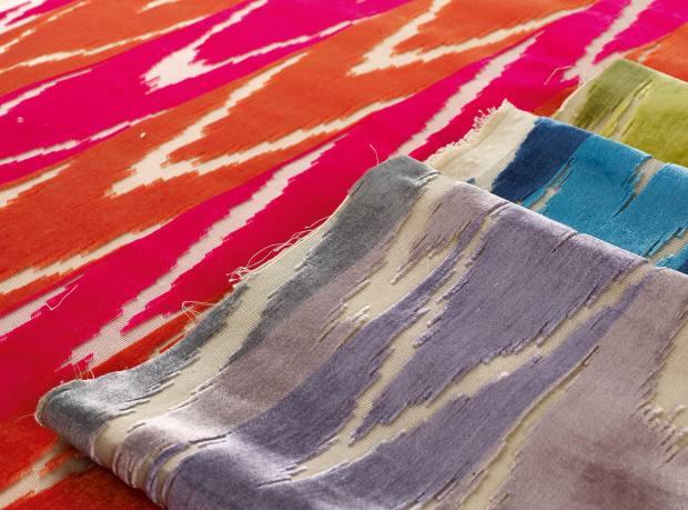 Dedar cotton-mix Coup de Foudre fabric, £328 per metre