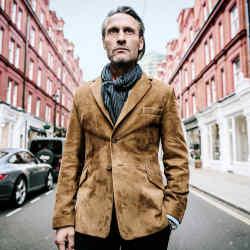 Cromford Leather suede Heston blazer, £2,125