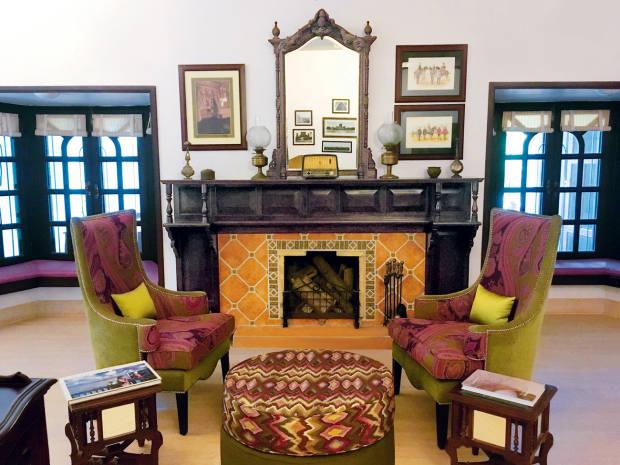 The decor at Jaagir has a gracious, Edwardian feel