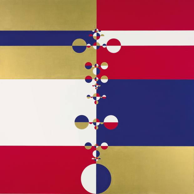 Gabriel Orozco 2005 painting Roto Spinal achieved $665,000 at auction in 2013