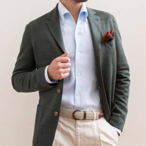 Bel y Cia linen lido-collared shirt, €395