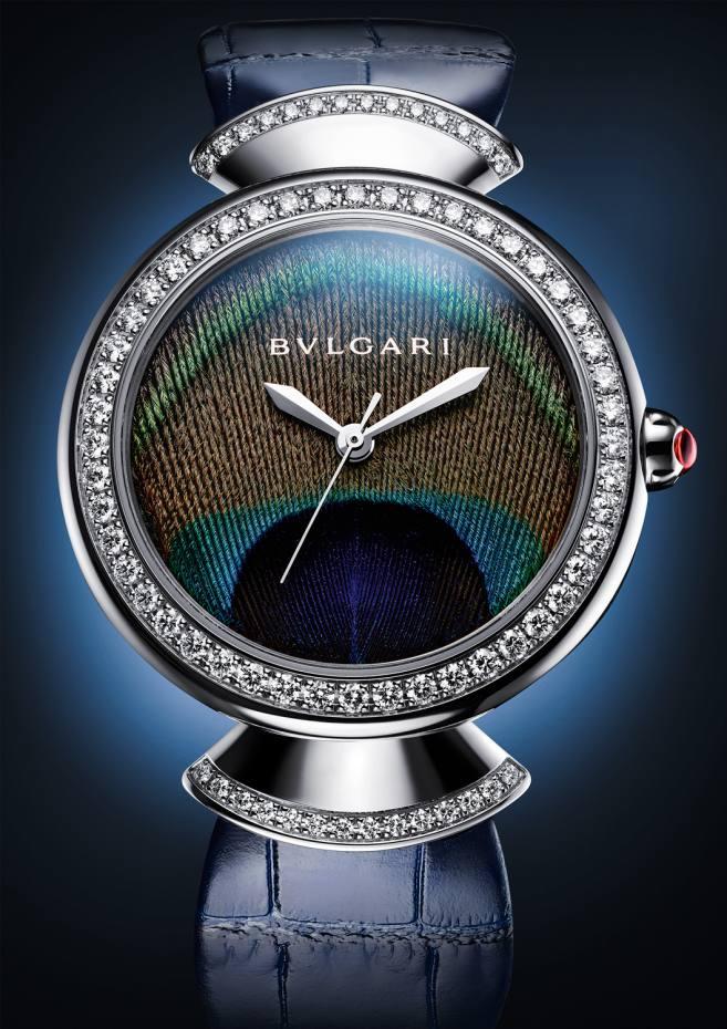 Bulgari white-gold and diamond Diva's Dream Peacock, €27,800