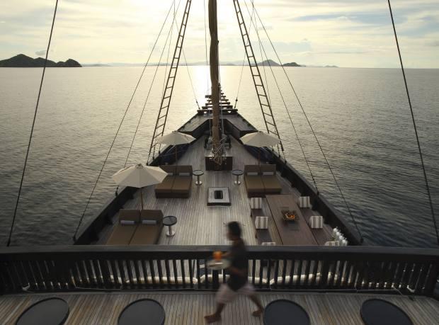 On board Alila Purnama