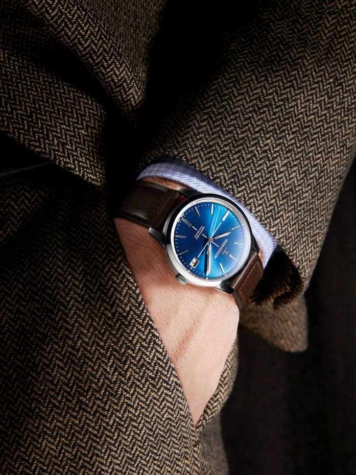 Jaeger-LeCoultre stainless-steel Geophysic True Second on leather strap, from £8,100
