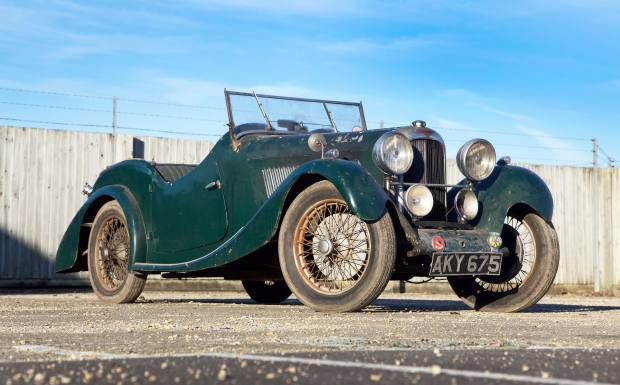 A 1936 Lagonda Rapier 1,098cc Sports Tourer, £20,000-£25,000