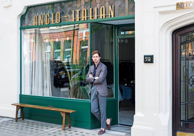 JakeGrantham, one of thefounders of Anglo-Italian,which opened in Marylebone this summer