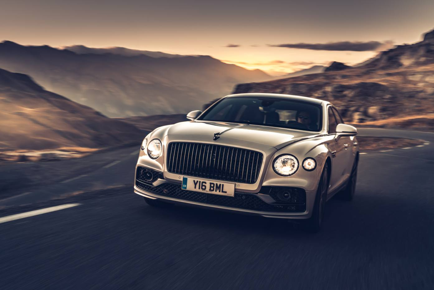 The new Bentley four-door Flying Spur limo