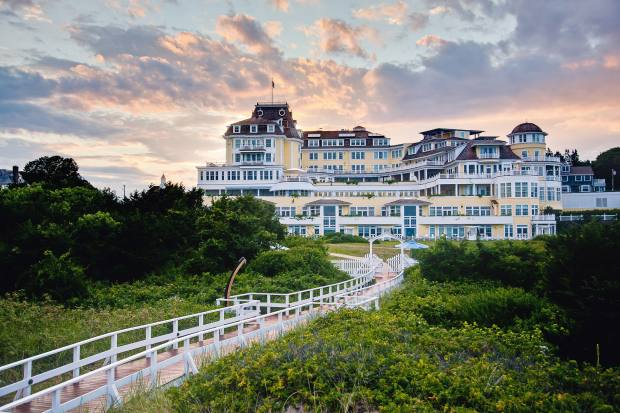 The grand Ocean House hotel on Rhode Island, New England, offers a range of yacht trips