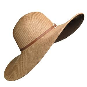 Melissa Odabash Jemima sunhat in straw with leather band, £110. Also with white band