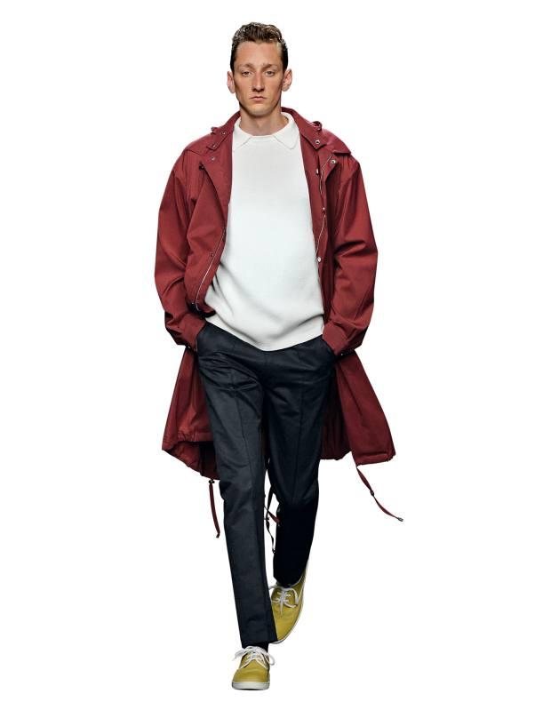 E Tautz wool/nylon parka, £995