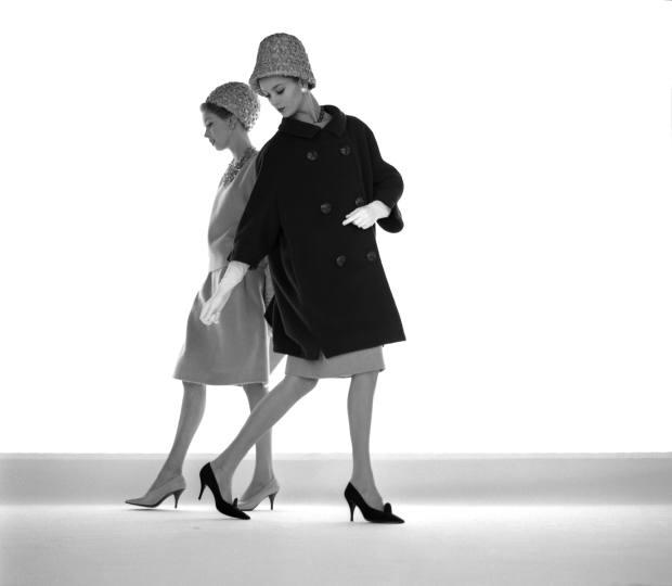 Margaret Brown and Anna Karina by Jerry Schatzberg (1960)