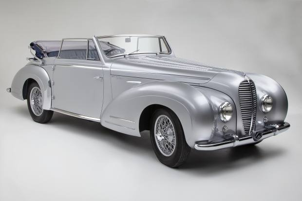 The super-slick 1951 Delahaye 135M Cabriolet, €250,000-€350,000