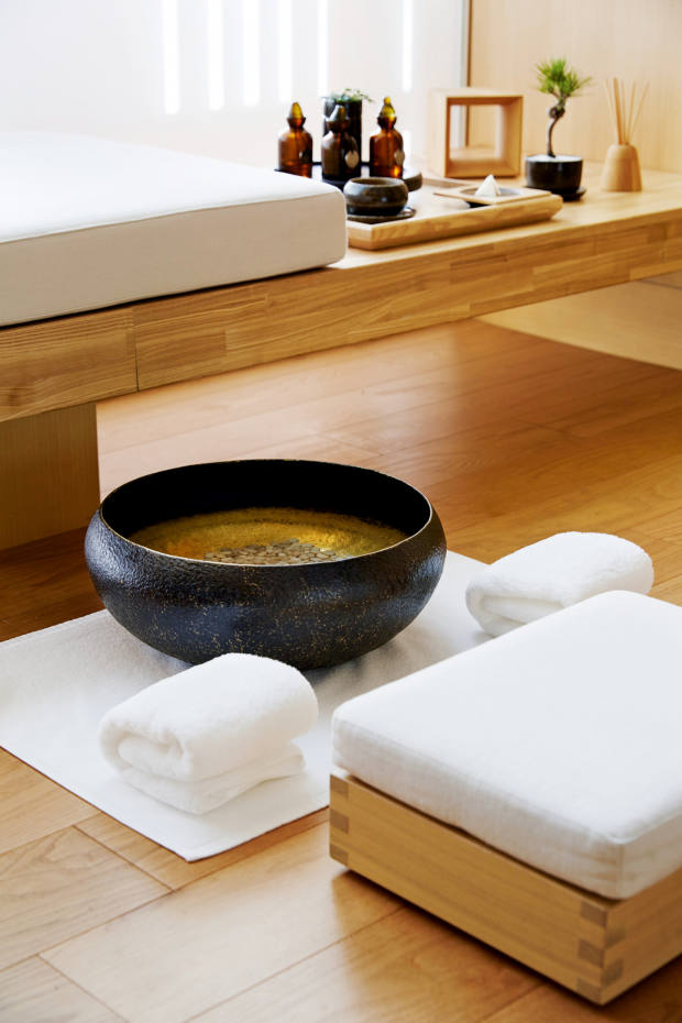 Treatments at Aman Tokyo include the Signature Spa Journey