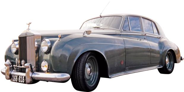 Icon 1958 Rolls-Royce Silver Cloud