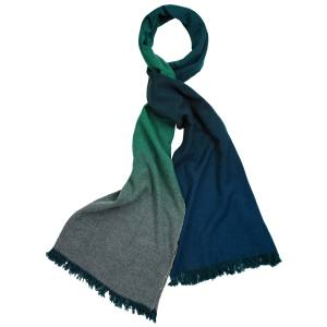Begg & Co Nuance scarf in cashmere, £340. Also in other colourways