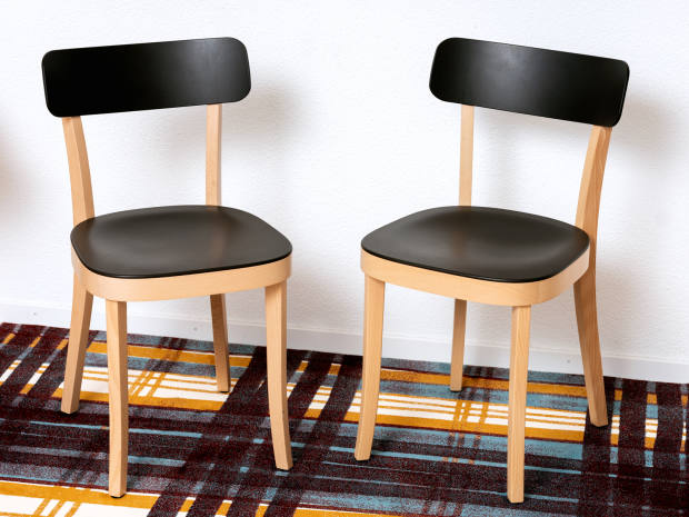 Ini Archibong's Jasper Morrison Basel chairs