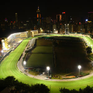Happy Valley holds approximately 40 meetings a season, with Wednesday evening events under floodlights