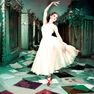 Moira Shearer dancing in the ballet classic The Red Shoes, 1947