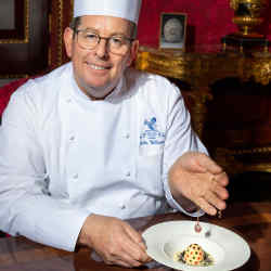 The Ritz's executive chef John Williams has devised the special Fabergé menu