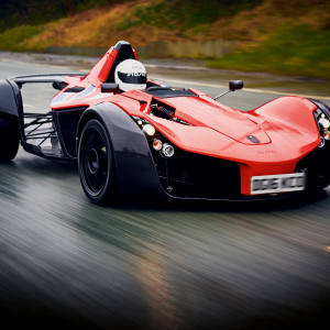 The author test-drives Briggs Automotive Company's Mono, from £135,950
