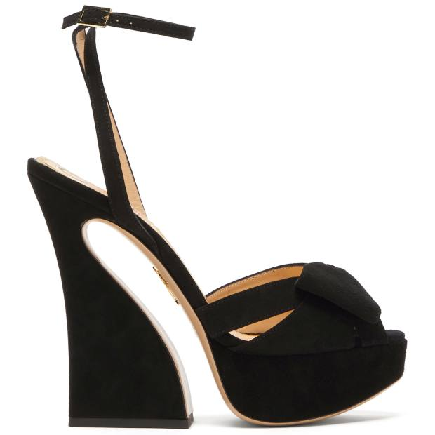 Charlotte Olympia, £625, from matchesfashion.com