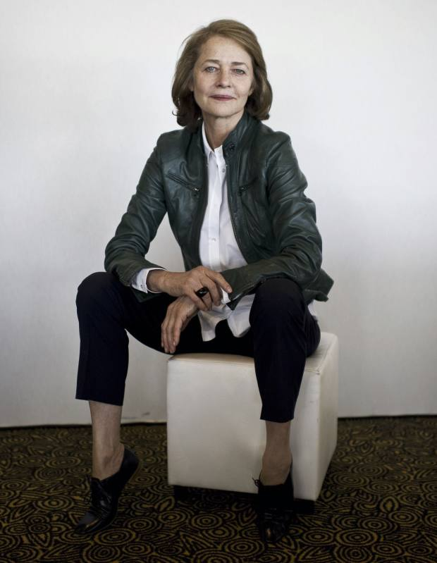 Charlotte Rampling, photographed at the Cannes Film Festival 2011