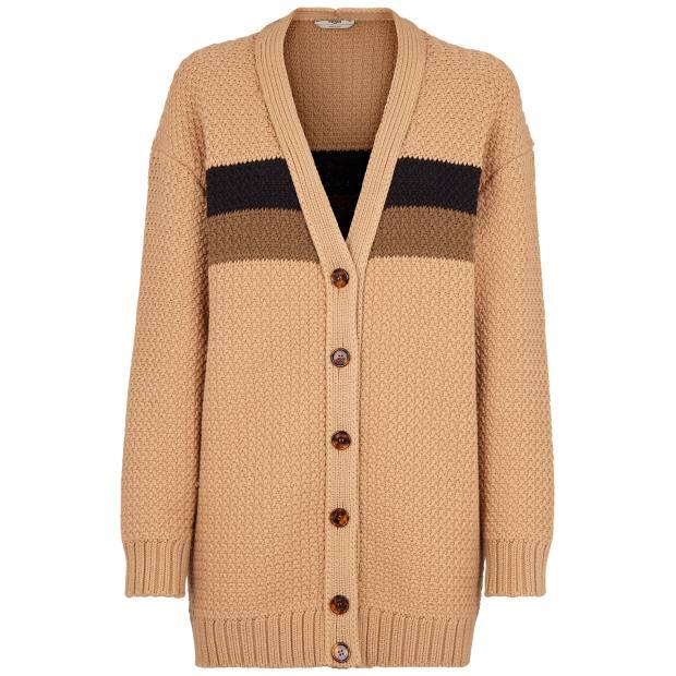 Fendi cotton cardigan, £980