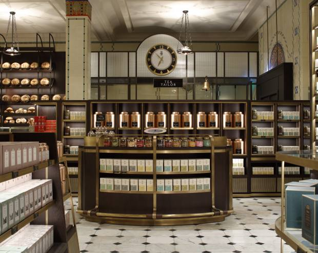 Part of the newRoastery and Bake Hall at Harrods