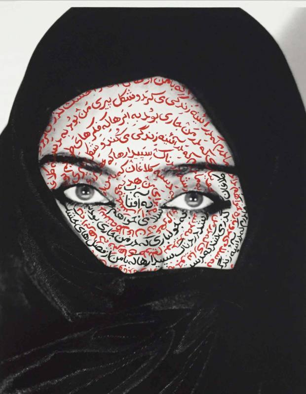 I am It's Secret by Shirin Neshat, from Paddle8