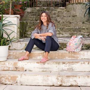 Christina Martini in Corfu Town