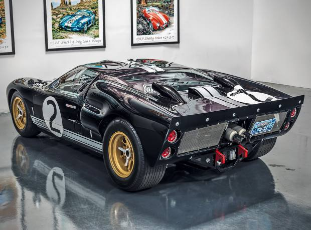 A Ford GT40, $250,000 from Superformance